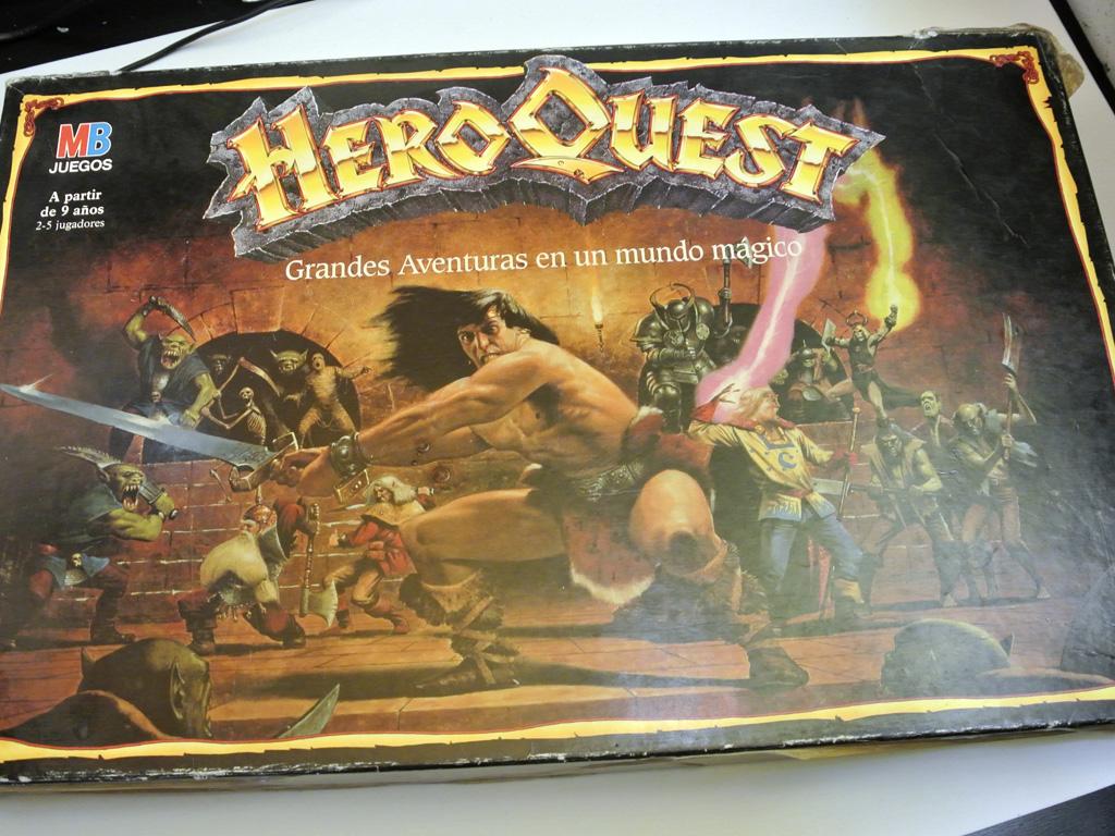 Cómo sobrevivir esperando el Heroquest 25 aniversario