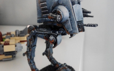 AT-ST del Imperial Assault, pintado en el taller de Cinco Reinos Zaragoza