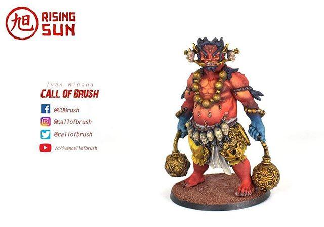 Oni of Blood del juego de mesa Rising Sun