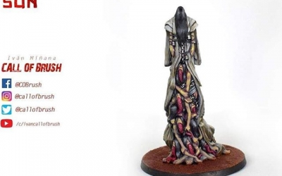 Yurei, otro Oni del juego de mesa Rising Sun